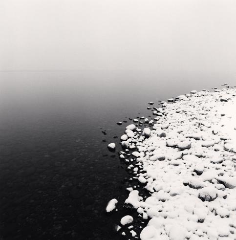 Michael Kenna, 'Snow on Pebbles, Toya Lake, Hokkaido, Japan', 2009, Weston Gallery