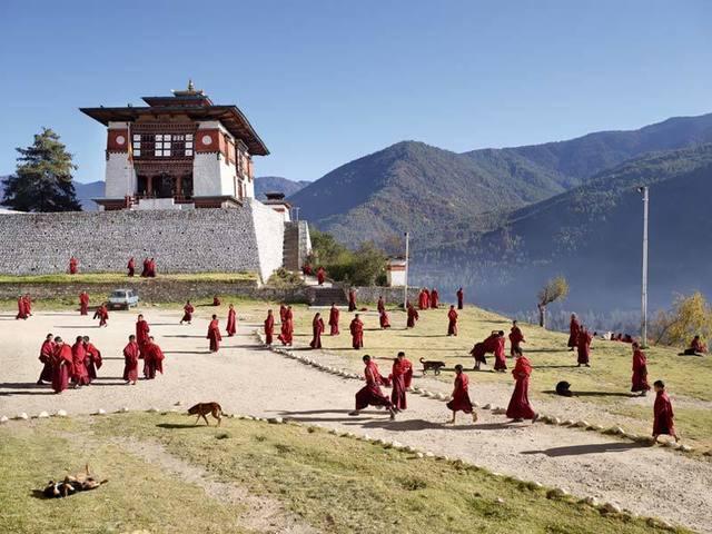 , 'Dechen Phodrang, Thimphu, Bhutan,' 2013, Aperture Foundation