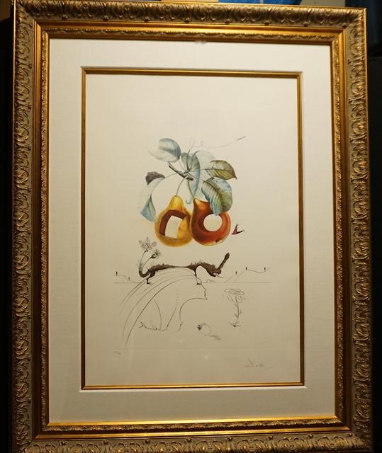 Salvador Dalí, 'FLorDali/Les Fruits Fruit With Holes', 1969, Print, Etching, Fine Art Acquisitions Dali