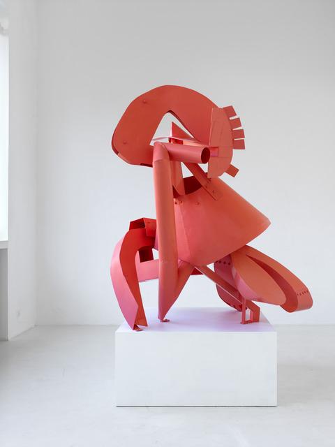 , 'Denker, korallenrot,' 2013, Sies + Höke