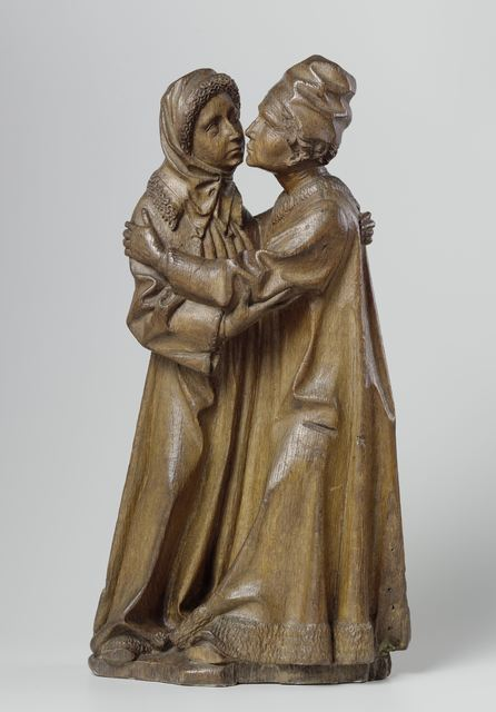 The Master of Joachim and Anna, 'The Meeting of Joachim and Anna', ca. 1470, Rijksmuseum