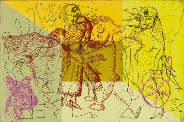 , 'Untitled, small 2 Yellow,' 2017, Kunstverket Galleri