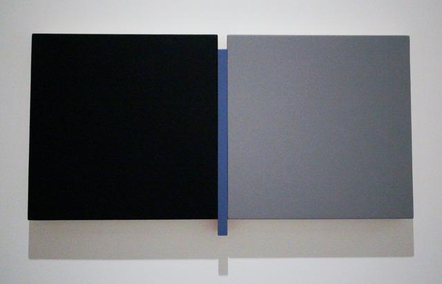 , 'Un Deux Trois Black, Blue, Gray,' , Peter Blake Gallery
