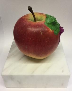 , 'Apple(chromium green & cobalt red purple),' 2018, SNOW Contemporary