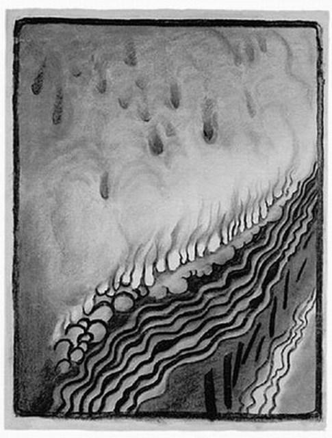 , 'V Drawing No.9,' 1968, Vault Gallery
