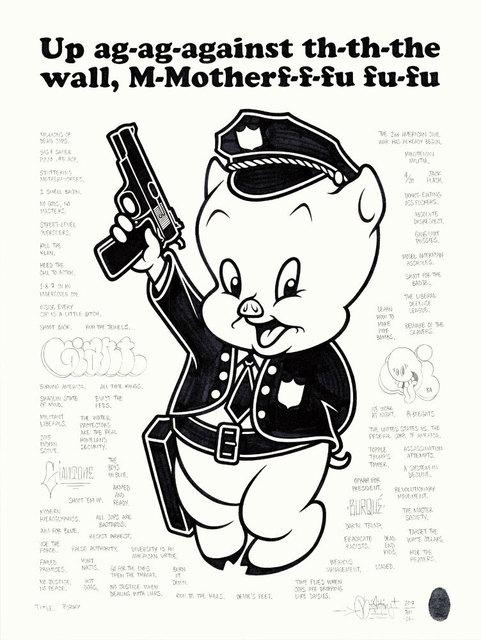 , 'Porky,' 2017, Black Book Gallery