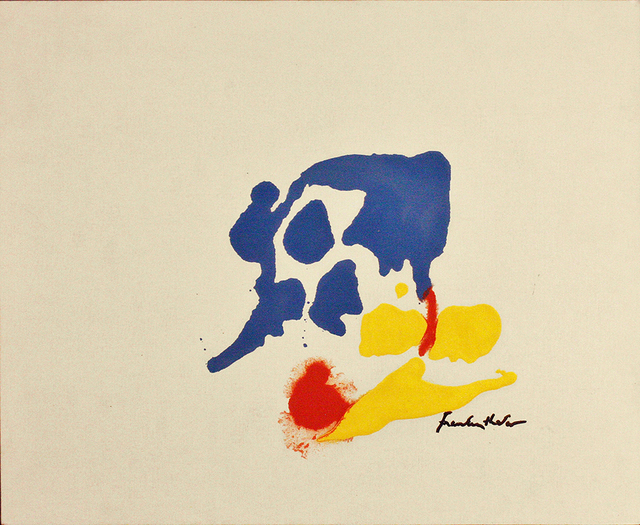 , 'Scene: Blue and Yellow,' 1961, Yares Art Projects