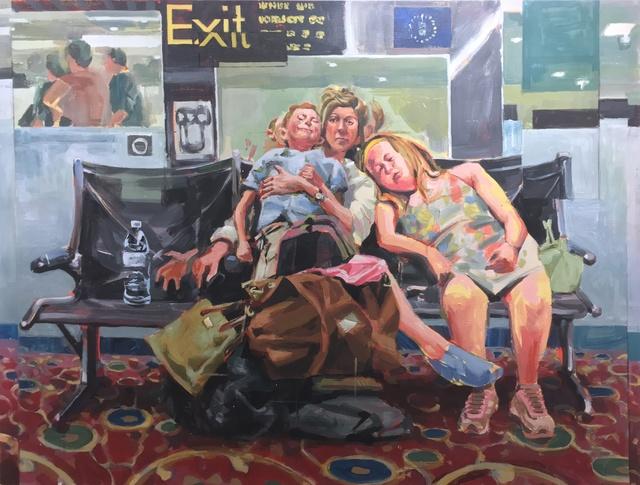 , 'WAITING ROOM,' 2017, Deep Space Gallery