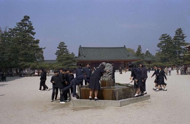 Sultan Ismail Nasiruddin Shah, 'Kyoto, Heian Jingu fountain ', 1971, Ihsan Modern