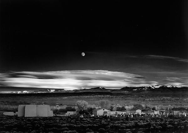 Ansel Adams, 'Moonrise Over Hernandez, New Mexico', 1941-printed circa 1958, Scott Nichols Gallery