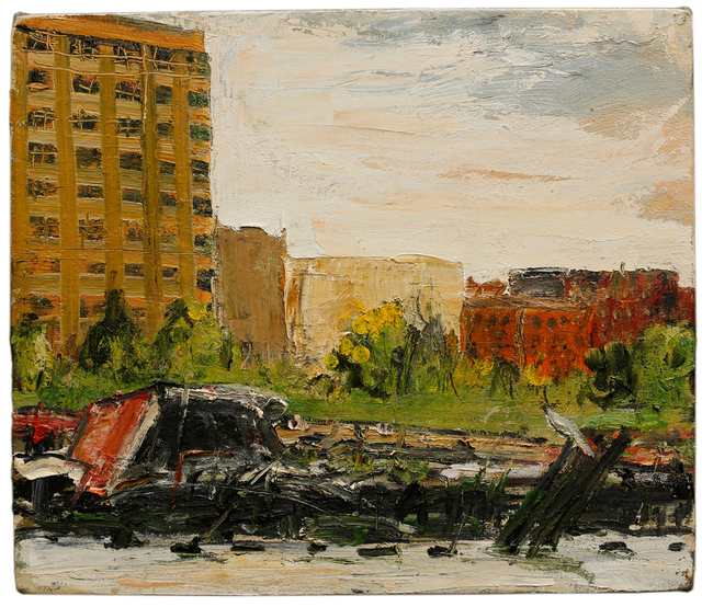 Jim St Clair, 'North End, Hoboken I', 2014, Walter Wickiser Gallery