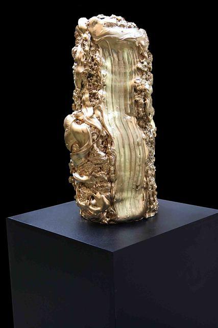 , 'The Artist's Stroke is Gold,' , Galerie Ulrike Hrobsky