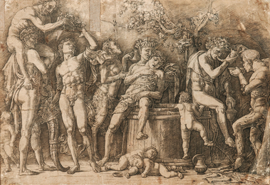 Bacchanal with a Wine Vat