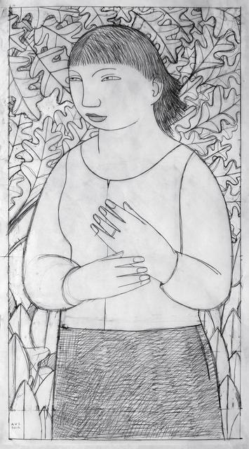 Andrew Stevovich, 'Sophie, Drawing #2', 2012, Adelson Cavalier Galleries