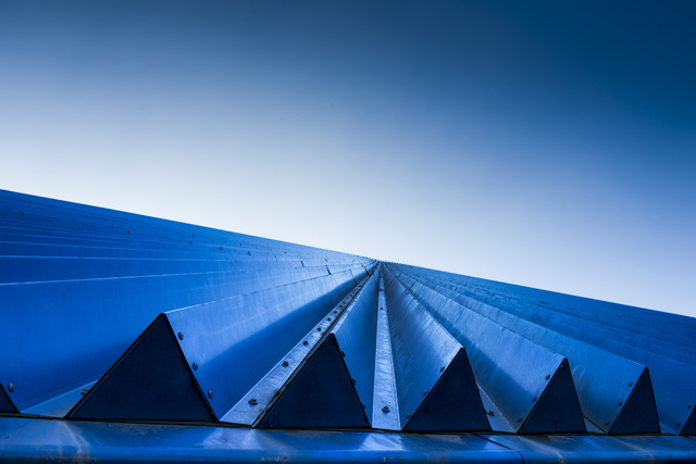 , 'Blue Triangles,' , TAG Gallery