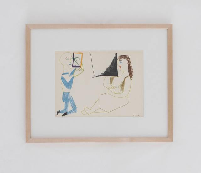 Pablo Picasso, 'Le peintre et son modèle', 1954, BASTIAN