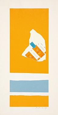 Robert Motherwell, 'Harvest, with Two White Stripes (Summer Light Series)', 1973, Galerie Boisseree