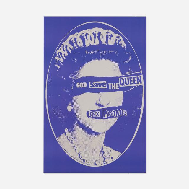 Jamie Reid, 'Sex Pistols poster', 1977, Wright