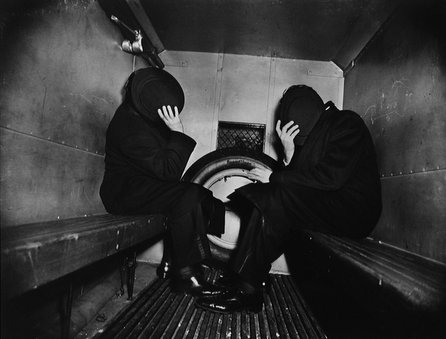 Weegee, 'In the Paddy Wagon', 1944/1993, BAM