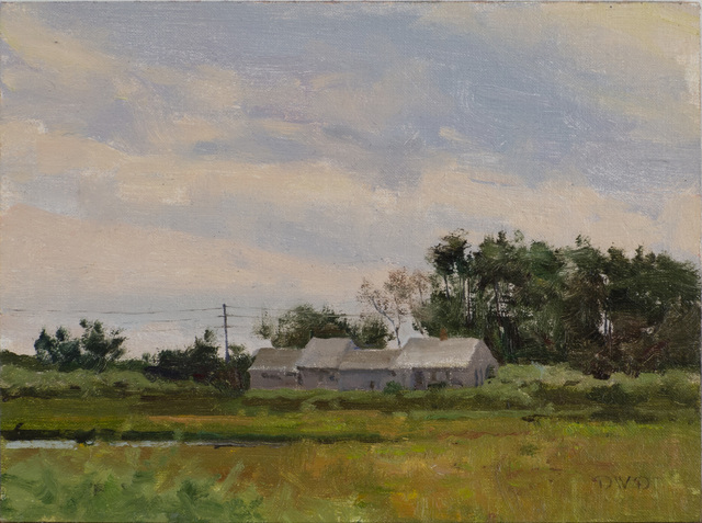 Donald W. Demers, 'End of the Marsh, Madaket, Nantucket', 2019, Painting, Oil on mounted linen, Vose Galleries