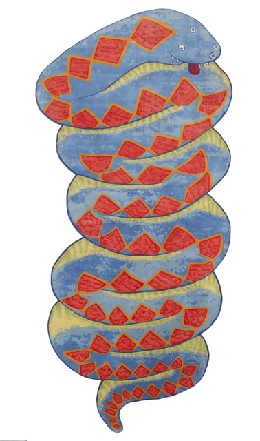 """The Haas Brothers, '""""Chet Snaker"""" Snake Carpet ', 2018, R & Company"""