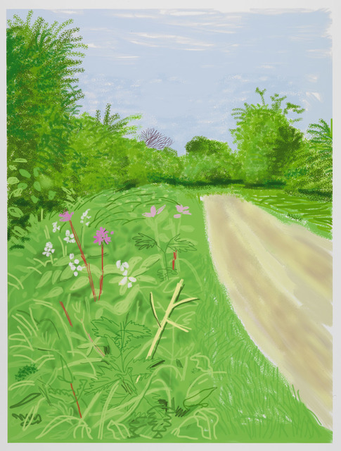 , 'The Arrival of Spring in Woldgate,  East Yorkshire in 2011 - 26 April,' 2011, Galerie Lelong & Co.