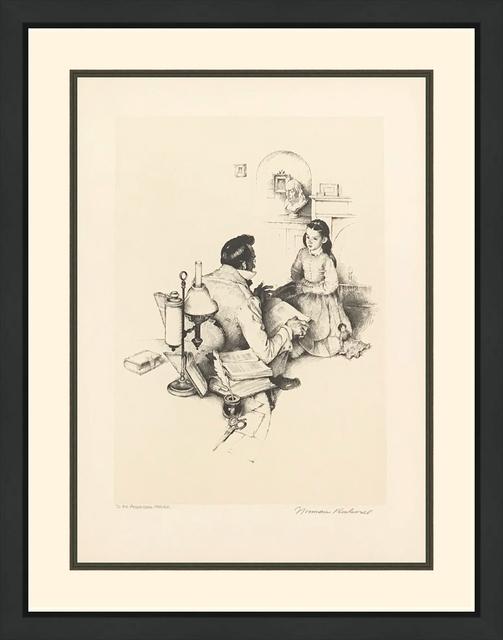 Norman Rockwell, 'THE TEACHER', 1974, Gallery Art