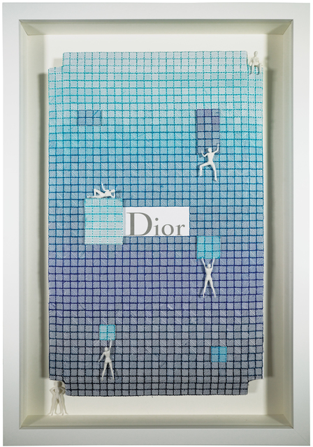 , 'Dior Azure,' 2017, New Gallery of Modern Art