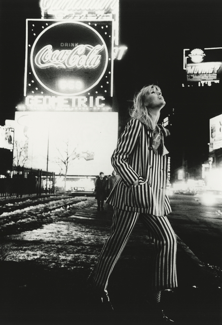 , 'Nico in Times Square, New York,' 1965, Howard Greenberg Gallery
