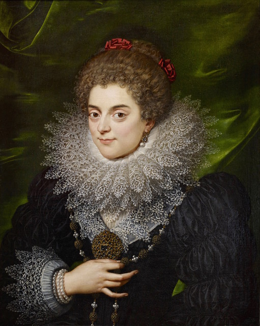 , 'An Unknown Noblewoman of the Bourbon Court ,' ca. 1615, The Weiss Gallery