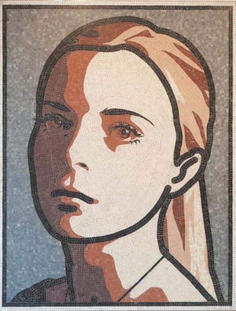 Julian Opie, 'Lily', 2011, David Benrimon Fine Art