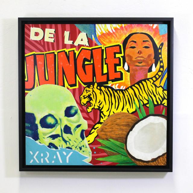, 'De La Jungle,' 2016, Station 16 Gallery