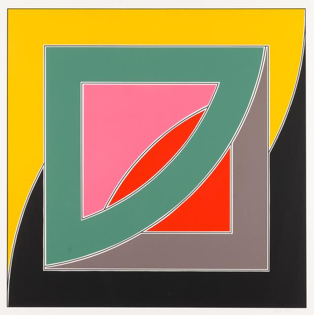 Frank Stella, 'REFERENDUM '70', 1970, Kings Wood Art