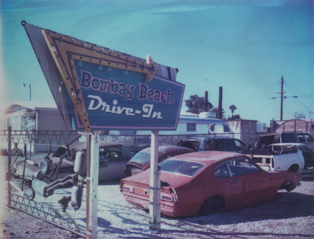 , 'Drive-In (Bombay Beach) 21st Century, Polaroid, Landscape Photography,' 2018, Instantdreams