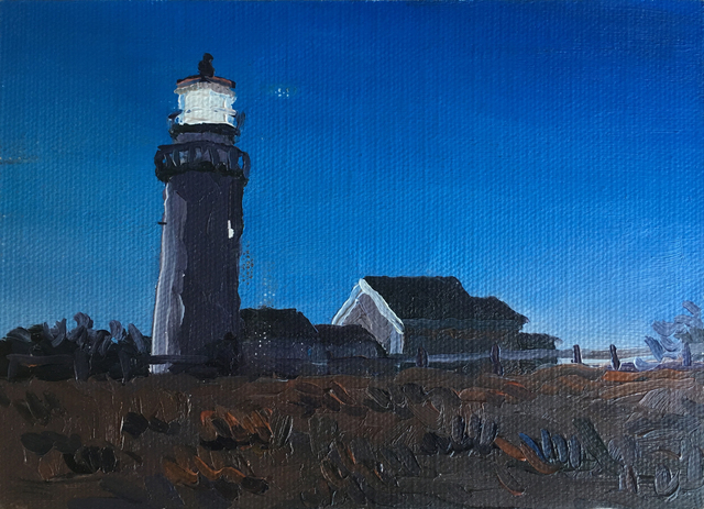 , 'Lighthouse Postcard,' 2016, Richard Levy Gallery
