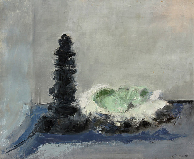 Giuseppe Ajmone, 'Senza titolo', 1963, Painting, Oil on canvas, Ambrosiana Casa d'Aste