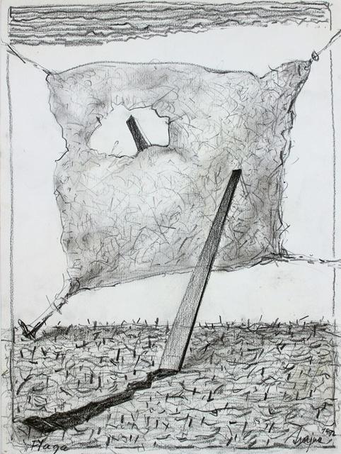 , 'The flag,' 1992, Gallery Katarzyna Napiorkowska | Warsaw & Brussels