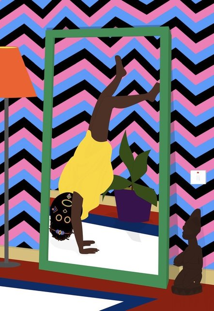 Dennis Osadebe, 'Home Alone II', 2018, Contemporary Collective Gallery