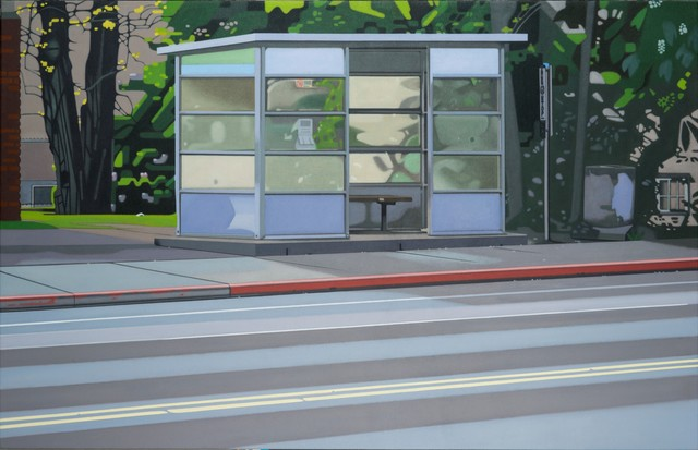 Doug Fraser, 'Bus Stop', ca. 2016, Winchester Galleries