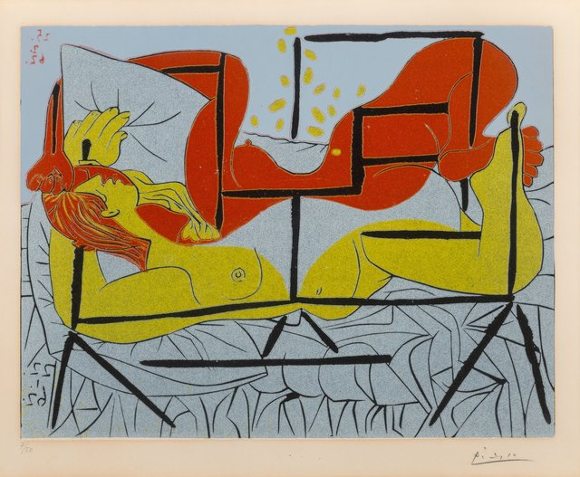 Pablo Picasso, 'Danaè', 1962, Print, Linocut in colors on Arches paper, Heritage Auctions