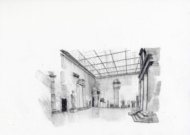 , 'Neues Museum 1930 II,' 2015, Deweer Gallery
