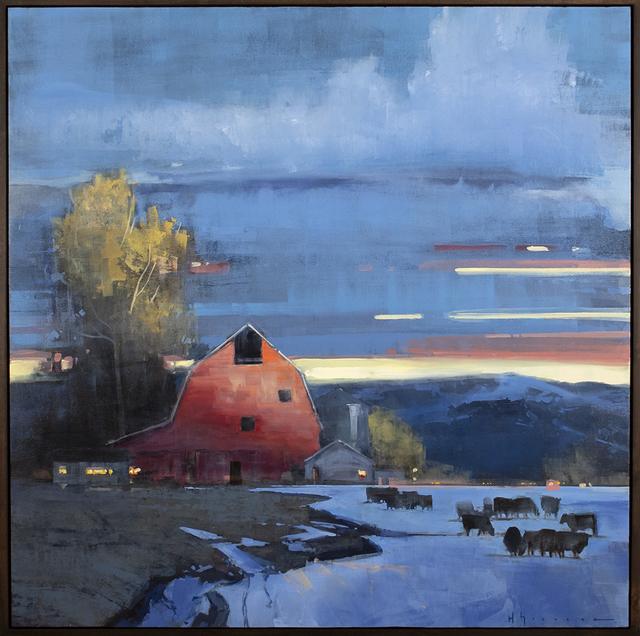 , 'First Light,' 2019, Blue Rain Gallery