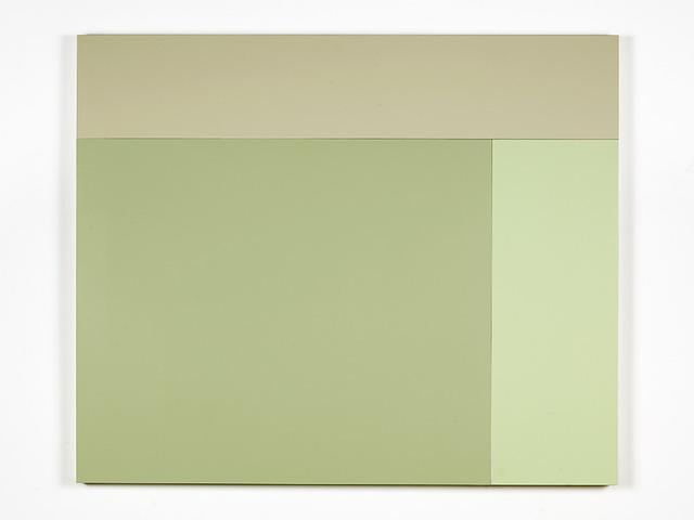 , 'L1 (Oyster, Aspen, Bronze Green),' 2013, Bortolami