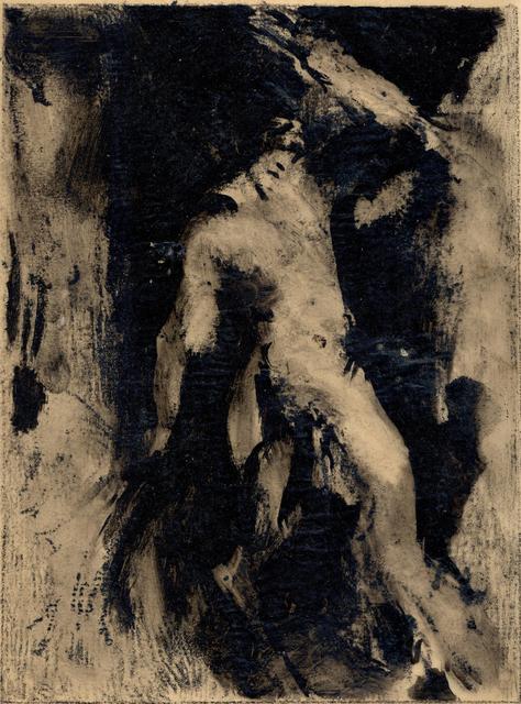 Ker Xavier Roussel, 'Silhouette sur fond noir', 1930-1935, Jill Newhouse Gallery