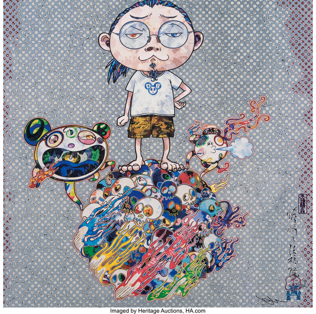 Takashi Murakami, 'Me and Mr. DOBs', 2013, Heritage Auctions
