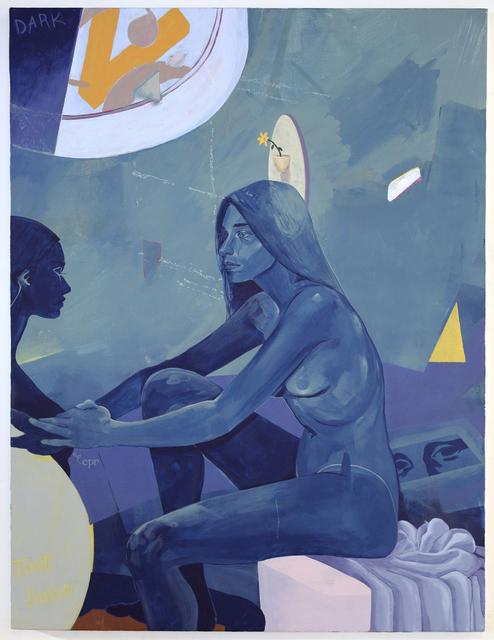 Nadia Waheed, 'Blue Portrait', 2018, Beers London