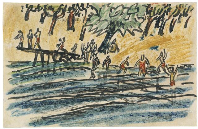 , 'Am See,' 1915, Ludorff