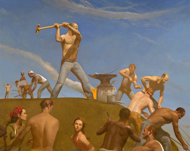 Bo Bartlett, 'The Forge (Swords into Plowshares)', 2008, Forum Gallery