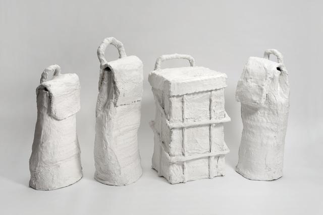 , 'Untitled (Wheelie Bags),' 2016, Cob