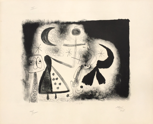 Joan Miró, 'Album 13 – Plate V', 1948, Denis Bloch Fine Art